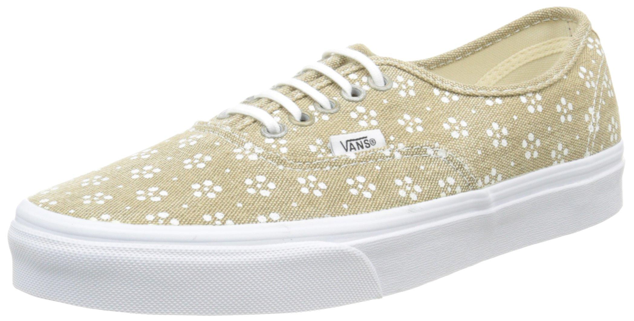 298cd9ede0 Vans Authentic, Unisex Adults' Low-Top Sneakers, Beige  (Webbing/Batik/Safari), 7.5 UK (41 EU)