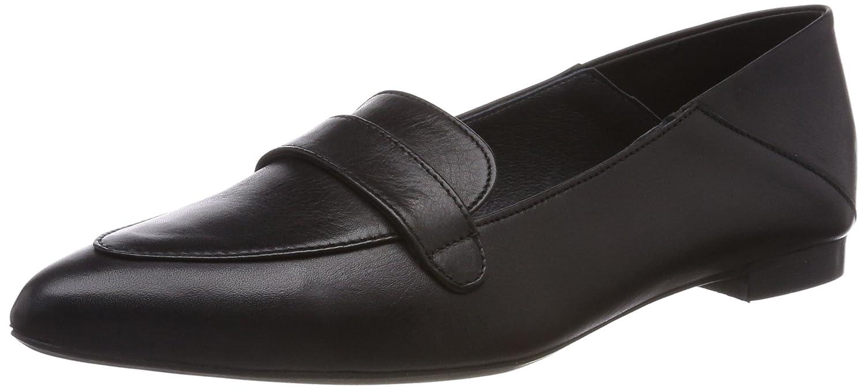 Mentor Shoe, Bailarinas con Punta Cerrada para Mujer Negro (Black 010)