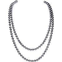 "BABEYOND Modische Imitation Perlen Kette Flapper Art Deco 1920s Gatsby Kostüm Accessoires Lange Perle Halskette 150 cm / 59"""
