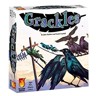Fireside Games Grackles - Board Games for Families - Board Games for Adults: Toys & Games