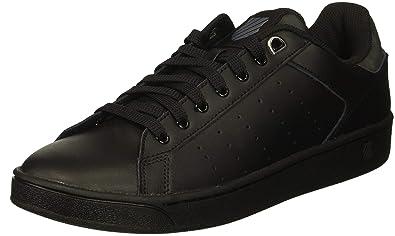 f8cd7cba1133 K-Swiss Women s Clean Court CMF Sneaker Black Charcoal 5 ...