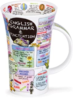 dunoon glencoe fine china educational english grammar punctuation mug cup 500ml - Periodic Table Mug Australia