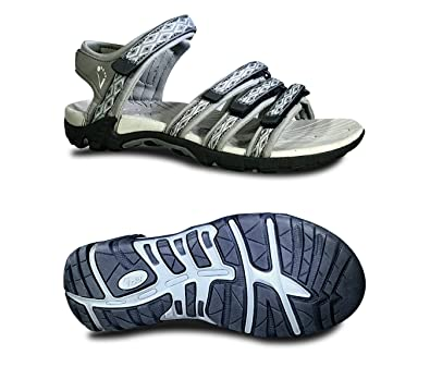 Viakix Womens Sport Sandals - Comfortable Athletic Walking Shoes for  Outdoors, Water, Hiking,