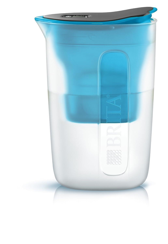 Brita Fun caraffa filtrante per acqua, in polipropilene, 17 x 7 x 23 cm, Polipropilene, Pink, 17.0 x 7.0 x 23.0 cm 17.0 x 7.0 x 23.0 cm 1029610
