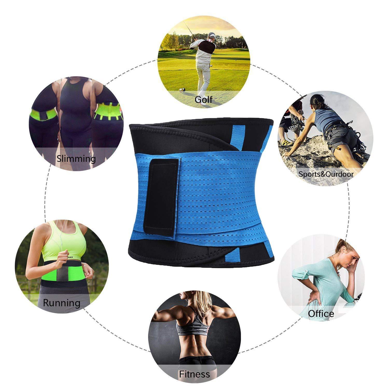 Body Shaper Sport Girdle Belt LIRINGl Womens Waist Trainer Belt Hourglass Body Shaper Waist Cincher Trimmer