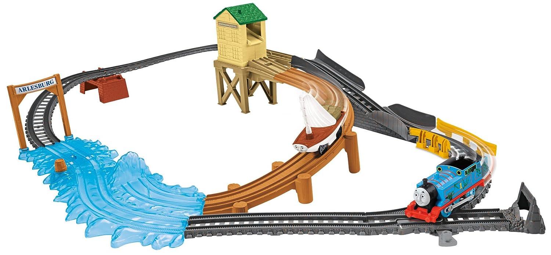 Fisher price thomas amp friends trackmaster treasure chase set new - Amazon Com Fisher Price Thomas Friends Trackmaster Treasure Chase Set Toys Games