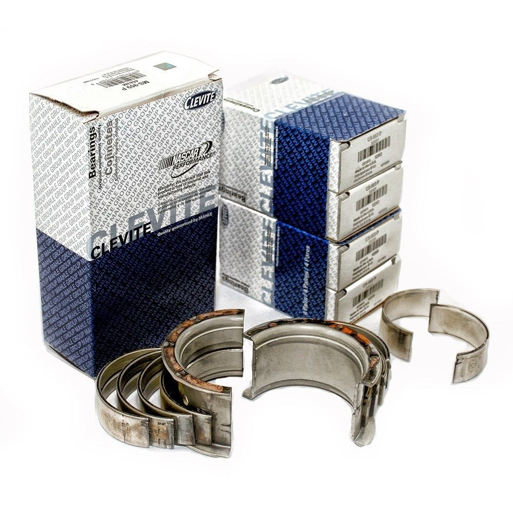 Marine Mercruiser 3.7L 224ci 470 488 Main Rod bearings big ends kit (.010' under size) Clevite77