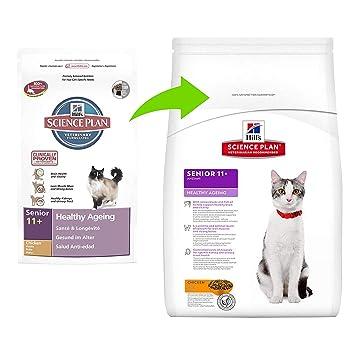 Hill s Senior Healthy Ageing Mature - Comida para gatos con pollo ...
