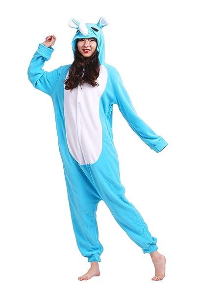 Hstyle Unisex Adulto Onesie Anime Kigurumi Trajes Disfraz Cosplay Animales  Pijamas Pyjamas Ropa De Dormir  Amazon.es  Ropa y accesorios cd0975d63ca8