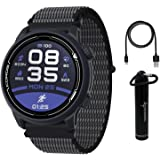 Coros PACE 2 Premium GPS Sport Watch with Nylon Band, Heart Rate Monitor, 30h Full GPS Battery, Barometer, ANT+ & BLE Connect