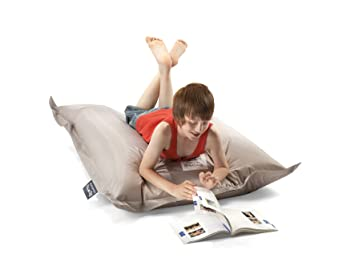 Awe Inspiring Big Hug Junior Bean Bag 100Cm X 130Cmm Stone Amazon Co Uk Ocoug Best Dining Table And Chair Ideas Images Ocougorg