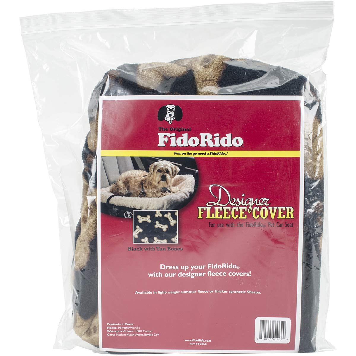 FidoRido FRFCBLB Replacement Fleece Cover
