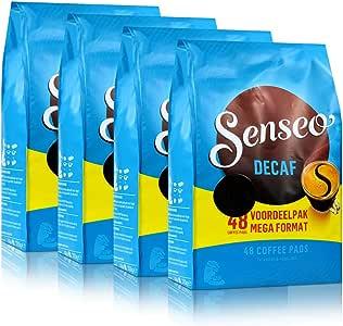 Senseo Decaffinated Coffee Pads 4X (48 Pads)