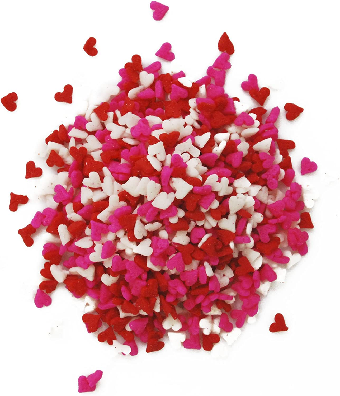 cupcake sprinkles I Can Hear The Bells Wedding inspired Heart Sprinkle Mix Cake decorating
