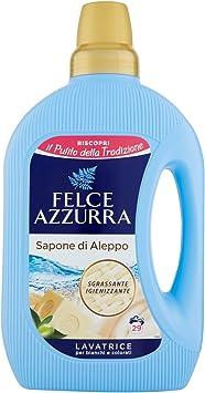 Felce Azzurra – Jabón de Alepo líquido lavavajillas, 8 paquetes de ...