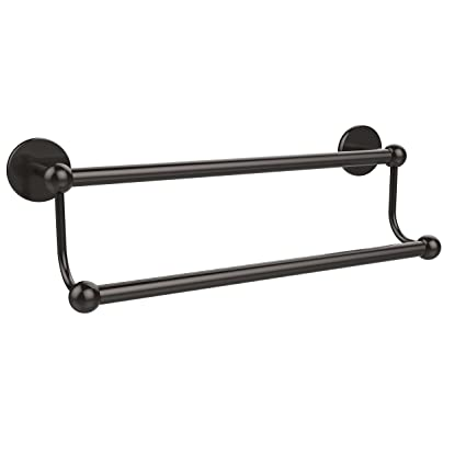 Allied Brass P107230 Orb 30 Inch Double Towel Bar Oil Rubbed
