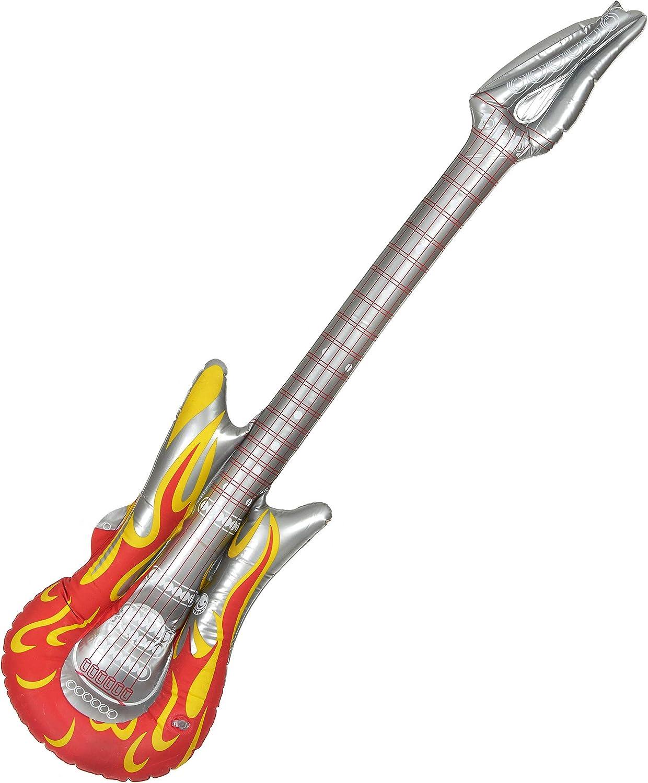 Vegaoo - Guitarra Hinchable Rock - Única: Amazon.es: Juguetes y juegos