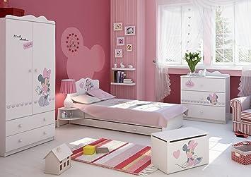 Chambre A Coucher Ensemble De Meubles Pour Enfants Minnie Mouse 2