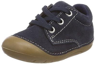 Lurchi Unisex-Kinder Flo Stiefel, Blau (Navy), 21 EU