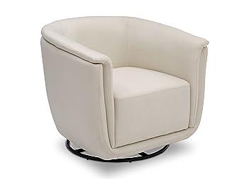 Pleasant Delta Children Skylar Nursery Glider Swivel Rocker Tub Chair Cream Camellatalisay Diy Chair Ideas Camellatalisaycom
