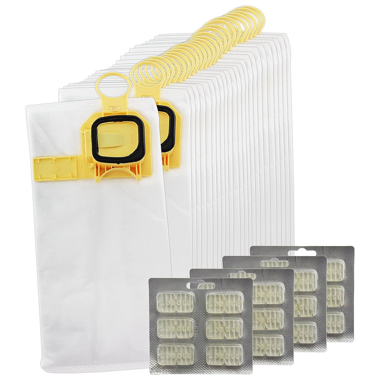 Spares2go Microfibre Cloth Hoover Bags for Vorwerk Kobold VK140 VK150 Vacuum Cleaners (Pack of 6)