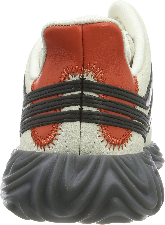 adidas Sobakov, Chaussures de Gymnastique Homme Blanc Off White Core Black Raw Amber Off White Core Black Raw Amber