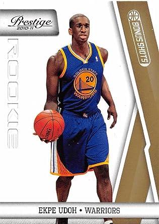 Amazon Com Basketball Nba 2010 11 Panini Prestige Bonus Shots 216 Ekpe Udoh Nm Rc Rookie 172 249 Collectibles Fine Art