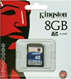 Kingston SDHC Secure Digital Scheda di memoria 8 GB Class 4 (Confezione originale)