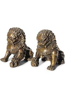 Asien Lifestyle asien lifestyle tempellöwen stein wächterlöwen china skulptur fudog