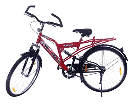 Leader Steel Men\'s Bicycle, 9 Inches (Red, JFI SHOOTER SX 9T RED ...