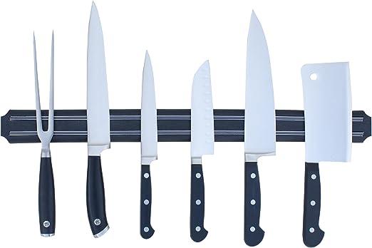 Fácil soporte magnético para cuchillos (soporte de pared bar por verde cocina | potente imán accesorio