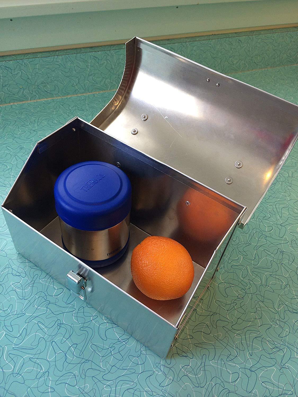 Retro Metal Lunchbox Customized Handmade