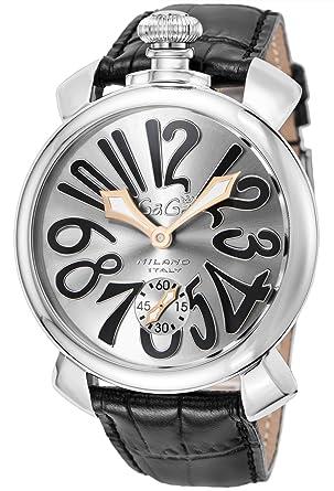 lowest price 82e70 9f53e [ガガミラノ] 腕時計 5010.07S-BLK 並行輸入品 ブラック