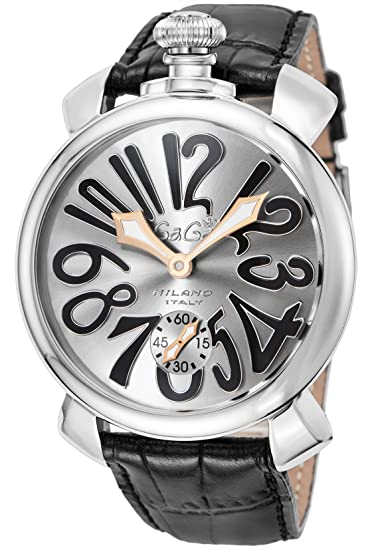 lowest price d3dd2 87248 [ガガミラノ] 腕時計 5010.07S-BLK 並行輸入品 ブラック
