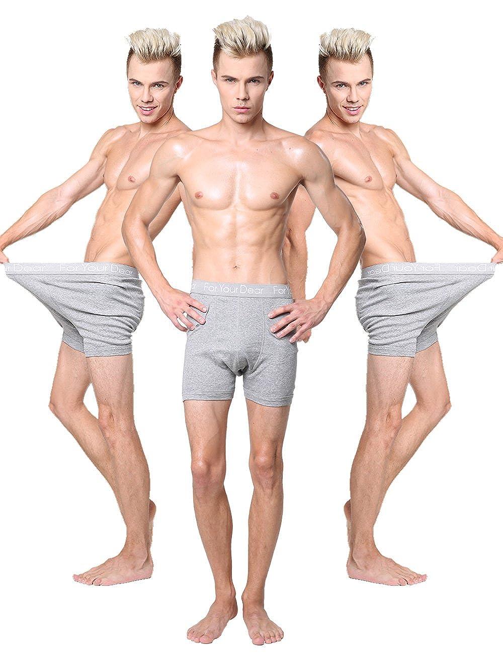 Godsen Men's 3-Pack Ultimate Boxer Briefs Underwear FYD-01-019019-3 pack