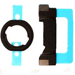 GinTai Home Button Bracket Gasket Replacement for i-Pad Mini 4 / Mini 5 (A1550 / A1546 / A2133 / A2124)