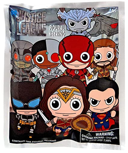 Amazon.com: DC Justice League 3D Collectible Key Ring Blind ...