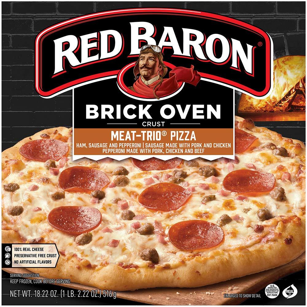 Schwan's Red Baron Brick oven Meat-Trio Pizza (frozen)
