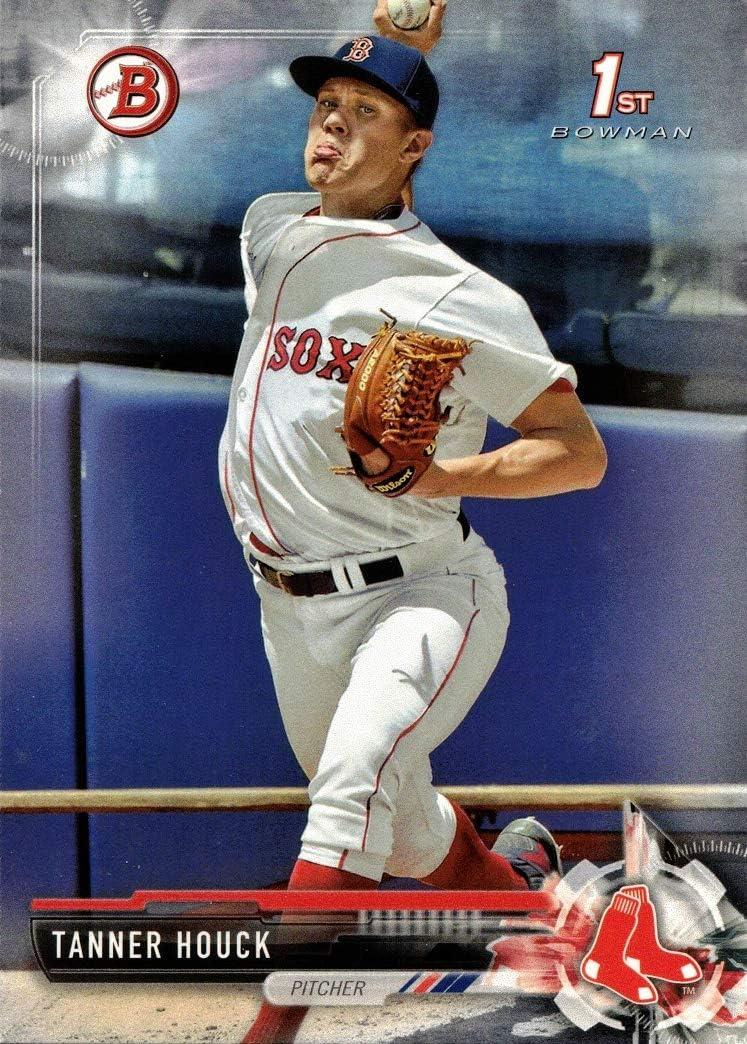 2017 Bowman Draft Baseball #BD-65 Tanner Houck Pre-Rookie Card - 1st Bowman Card