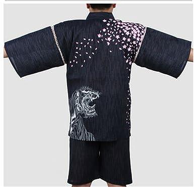 Successg Hombre 100% Traje De Algodón Hombre Japonés Pijamas ...
