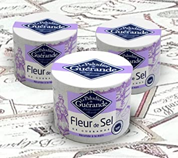 Amazon Com Le Paludier De Guerande Fleur De Sel Three 4 4 Oz