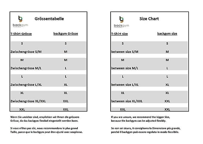 R/ücken und Schulterschmerzen Backgym Classic Haltungskorrektur f/ür M/änner und Frauen Haltungstrainer Bei Nacken