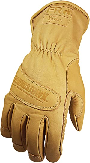 Youngstown Glove 12-3290-60-L Flame Resistant Waterproof Ultimate Lined with Kevlar Gloves, Large