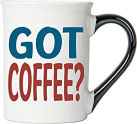 Got Coffee? Mug, Got Coffee? Coffee Cup, Ceramic Got Coffee? Mug, Custom Got Coffee? Gifts By Tumbleweed