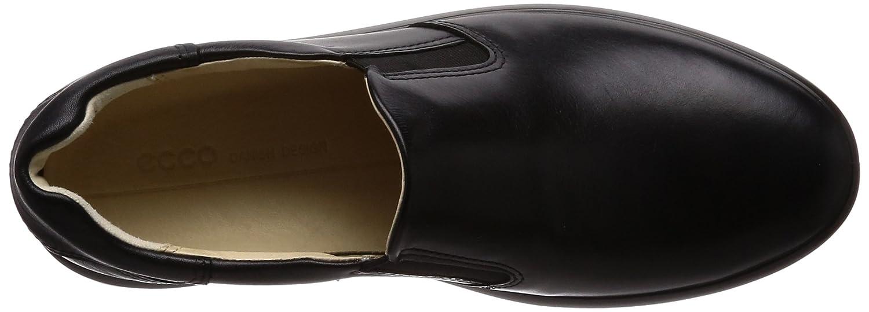 Ecco Damen Soft 38 9 Slip On Sneaker, Schwarz (schwarz), 38 Soft EU - 4a0af7