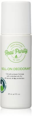 Real Purity Roll-On Natural Deodorant