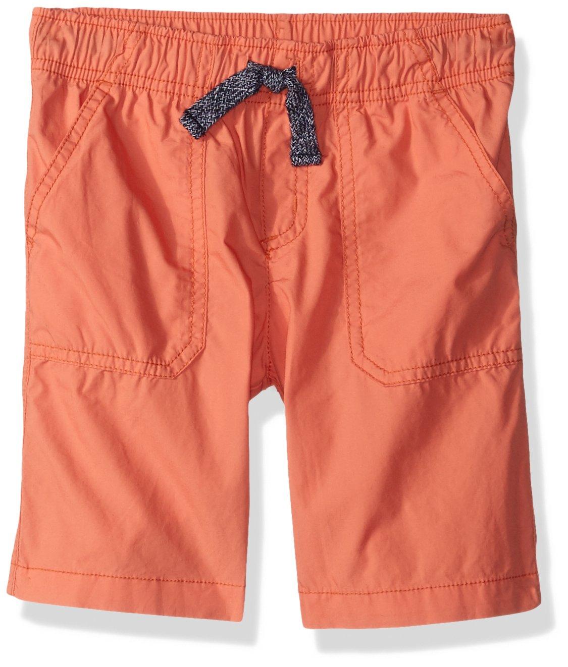 Gymboree Toddler Boys' Easy Shorts, Sunset Orange, 4T