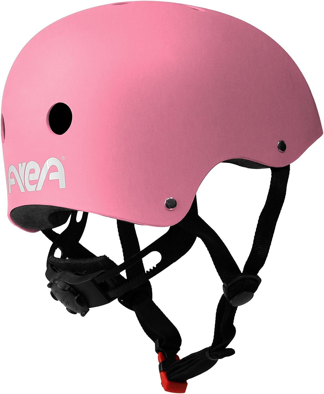 AREA Casco Skateboard Testato a Norma CEE Esterno in ABS Interno in EPS con Anello di microregolazione