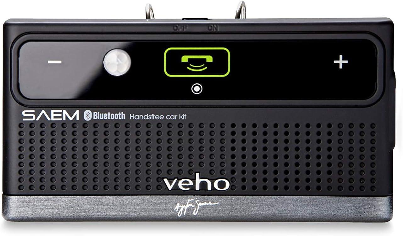 Veho VBC-002-AS SAEM S3 Ayrton Senna Signature Collection Bluetooth Car and Speaker Kit with AMS