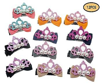 0792bb2ac Amazon.com: Barrette for girls Clips for kids loveliness handwork ...